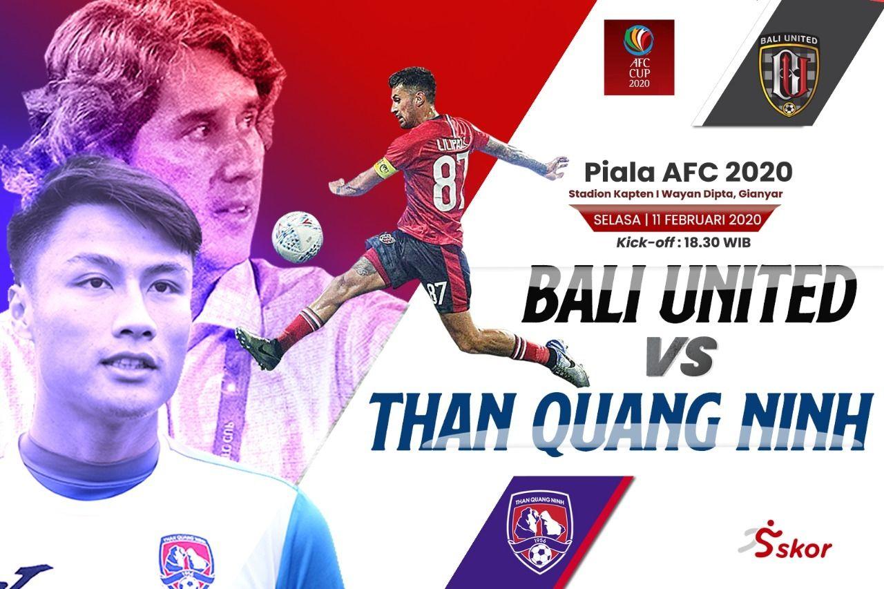 Piala AFC 2020 Daftar Susunan Pemain Bali United Vs Than
