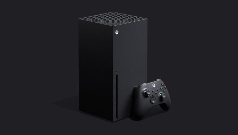 Konsol generasi terbaru dari Microsoft, Xbox Series X.