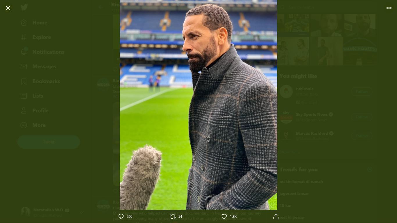 2 Pemain Rekomendasi Rio Ferdinand Untuk Direkrut Man United