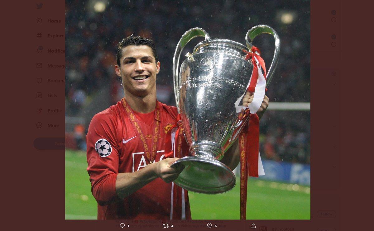 Cristiano Ronaldo Sempat Frustrasi Di Manchester United