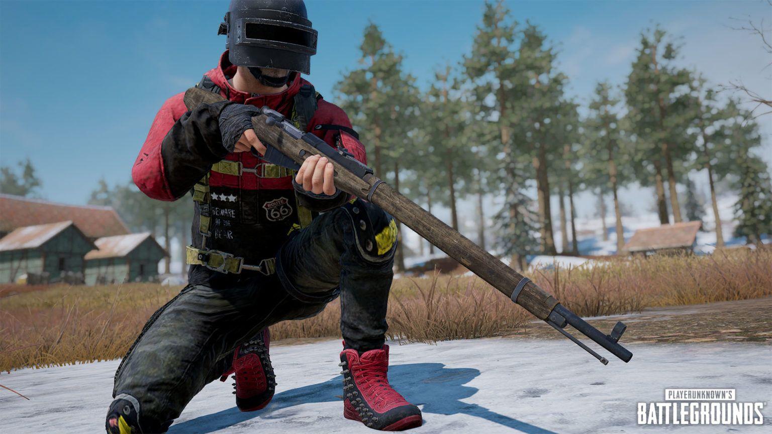 Mosin-Nagant menjadi senjata terbaru di PUBG update 7.1.