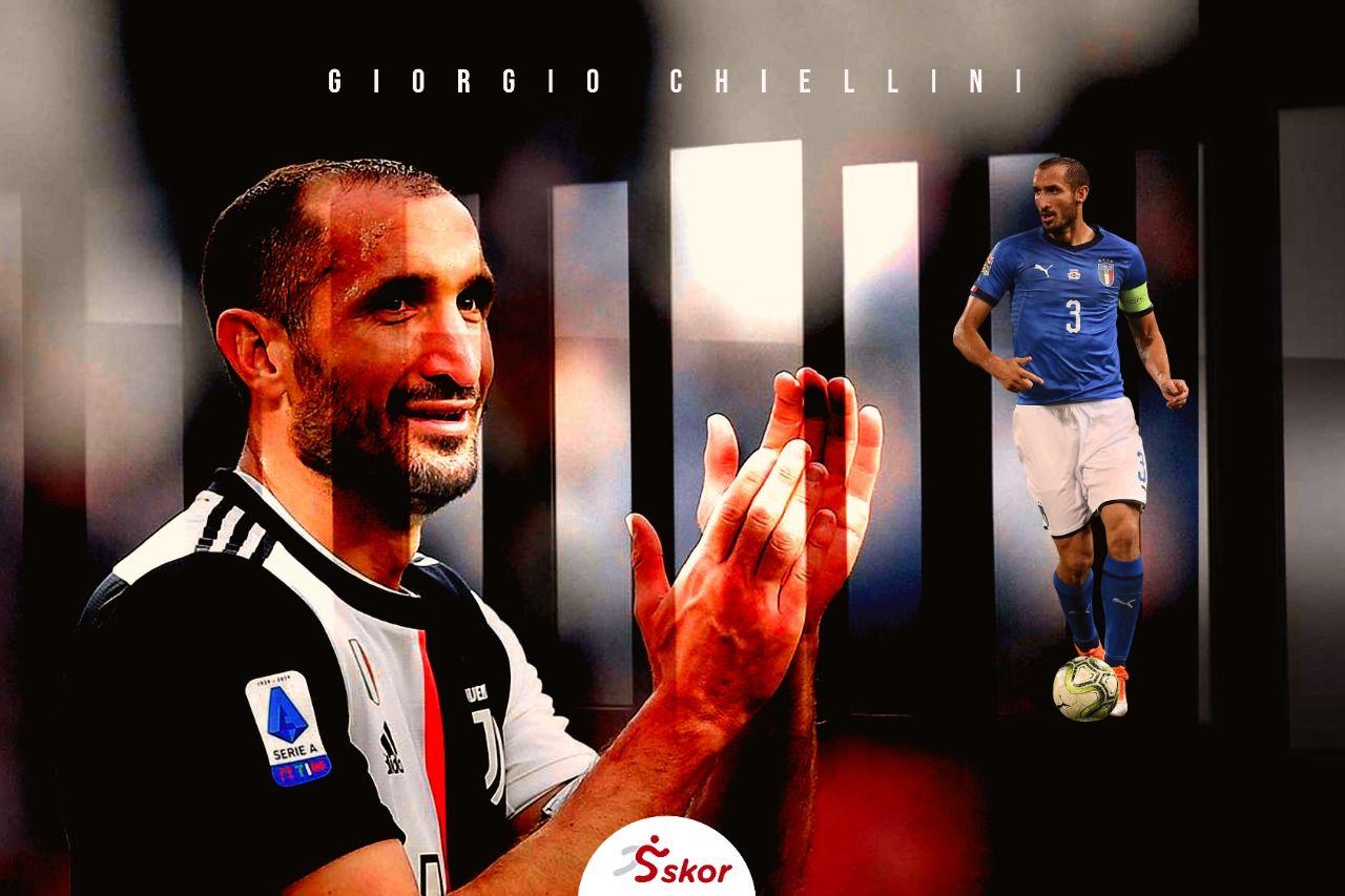 Cover artikel pemajn Juventus, Giorgio Chiellini.
