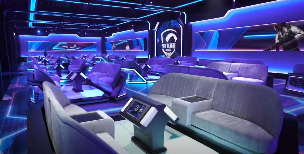 Studio esport terbaru untuk PUBG Mobile hasil kerjasama Tencent dengan ESL.