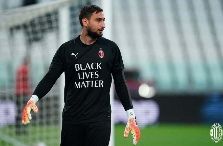 Kiper AC Milan, Gianluigi Donnarumma.