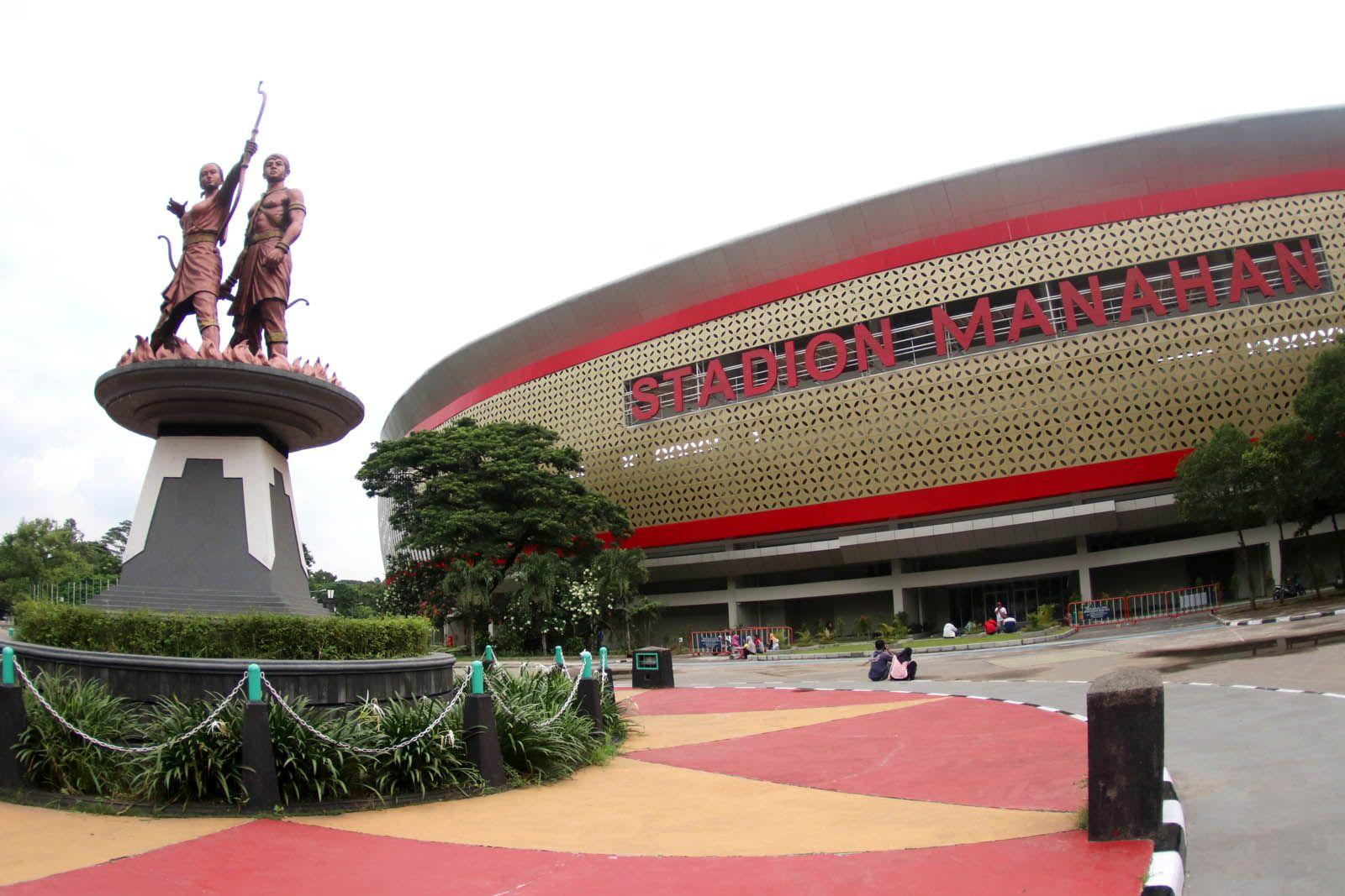 Kemegahan markas Persis Solo, Stadion Manahan saat diabadikan pada Februari 2020 lalu.