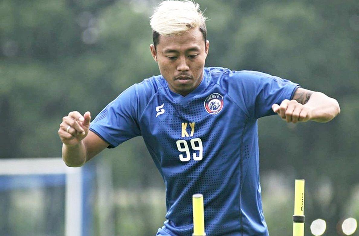 "Kushedya ""Bad Boy"" Hari Yudo bersyukur namanya masuk dalam daftar Timnas Indonesia asuhan pelatih Shin Tae-yong"