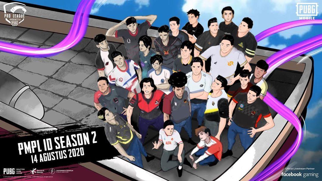 PUBG Mobile Pro League Indonesia atau PMPL Indonesia Season 2 akan berlangsung mulai 14 Agustus 2020.
