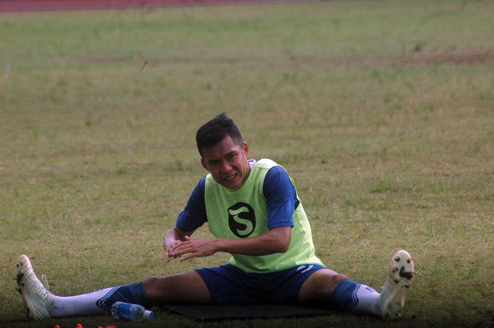 Pemain Persib Bandung Erwin Ramdani punya cara dalam memaknai dalam setiap Hari Kemerdekaan.