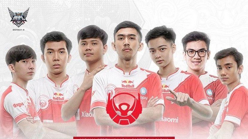 Skuad Bigetron Alpha di MPL Indonesia Season 6.