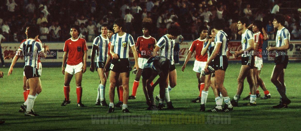 Diego Maradona Kenang Laga Lawan Indonesia di Piala Dunia Remaja 1979