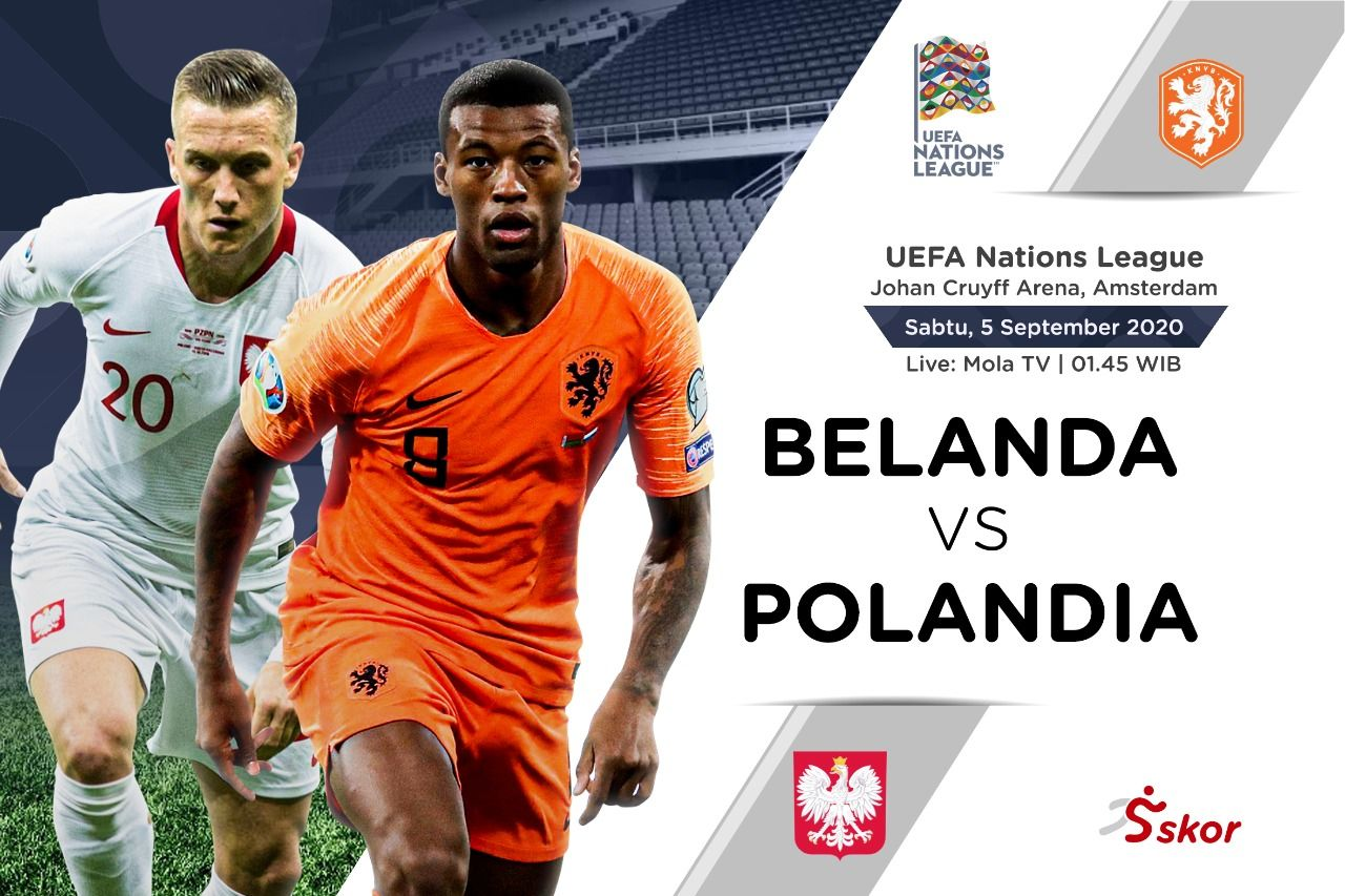Prediksi Uefa Nations League Belanda Vs Polandia