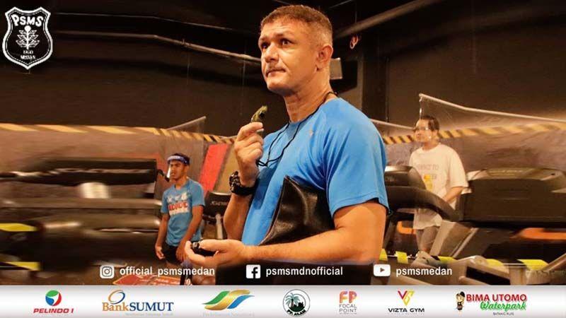 Gomes De Oliveira, diperkenalkan sebagai pelatih baru PSMS Medan pada September 2020.