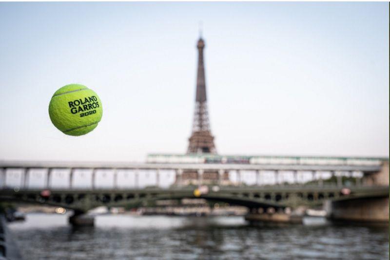 Unggahan foto akun resmi Twitter turnamen tenis Grand Slam French Open 2020 alias Roland Garros pada 18 September 2020.