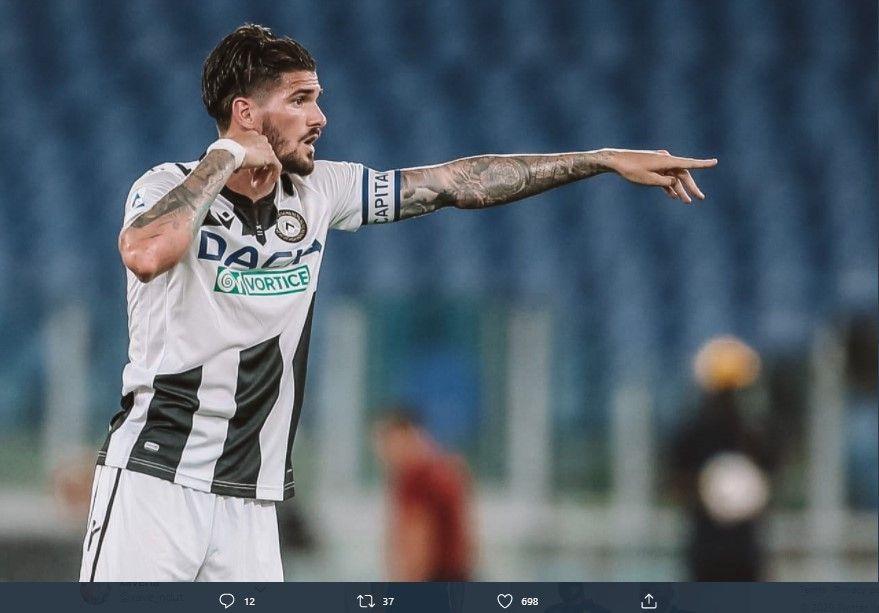 Playmaker Udinese, Rodrigo De Paul, memiliki visi permainan apik dan kualitas mumpuni.