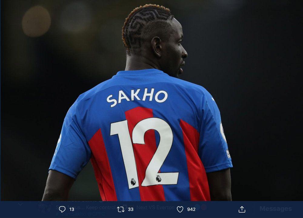 Eks-pemain Liverpool yang kini membela Crystal Palace, Mamadou Sakho, pernah divonis memakai doping.