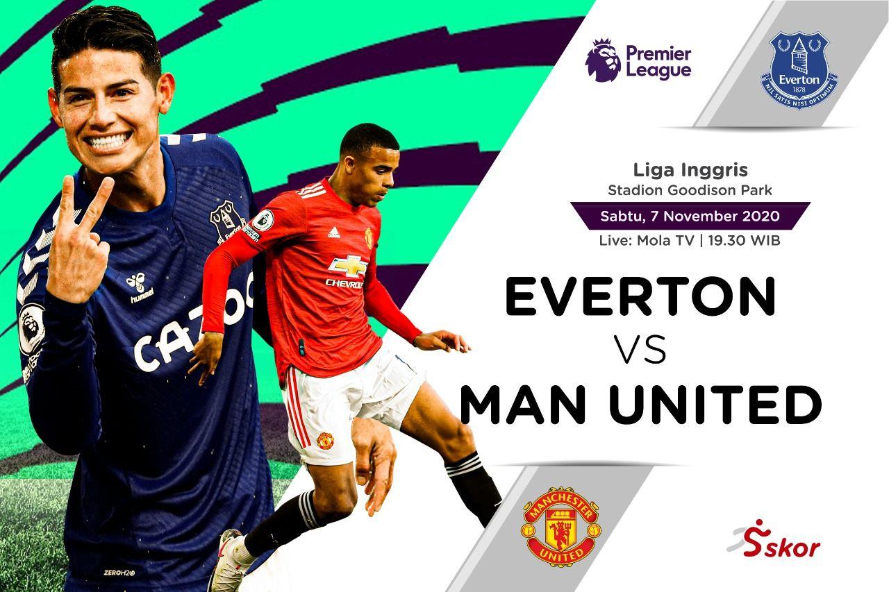 Prediksi Liga Inggris Everton Vs Manchester United