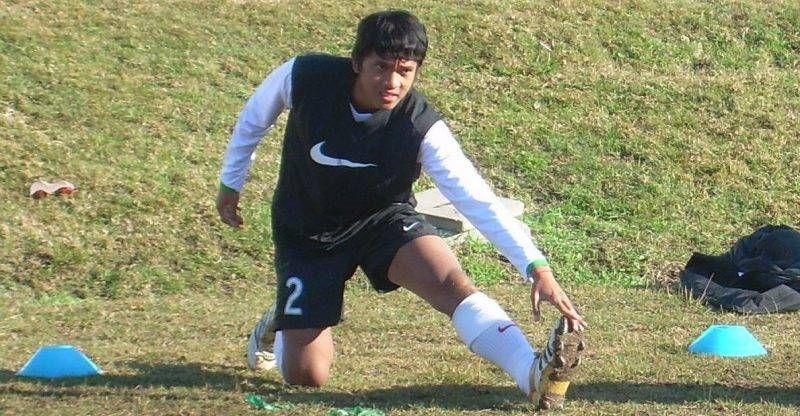 Mantan anggota tim SAD Uruguay dan timnas Indonesia, Reffa Mony.
