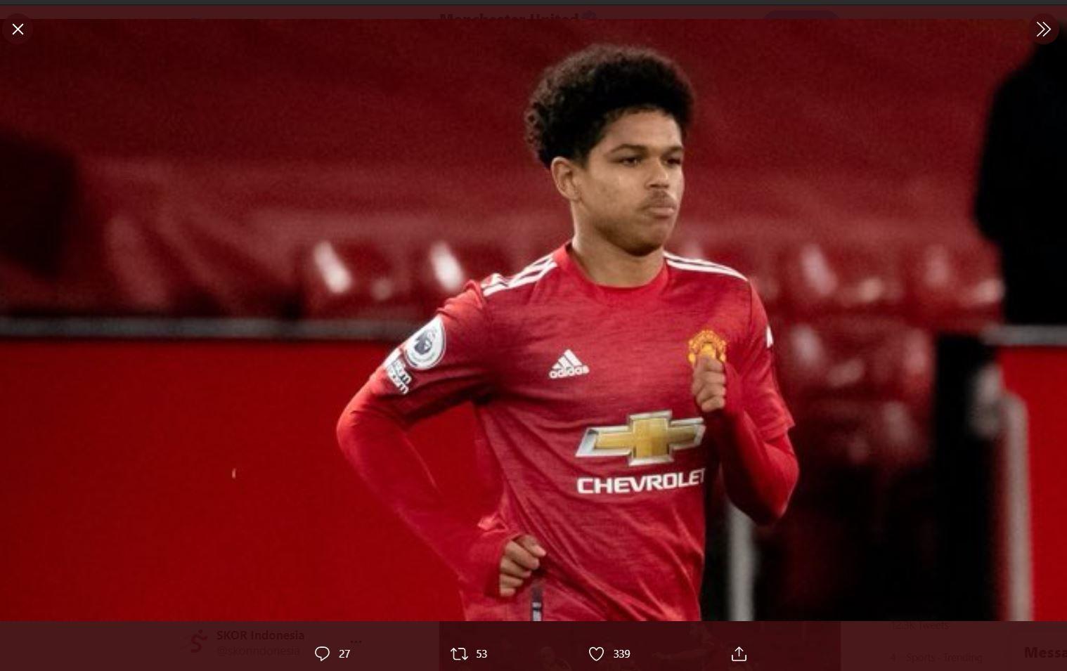 Pemain muda Manchester United, Shola Shoretire.