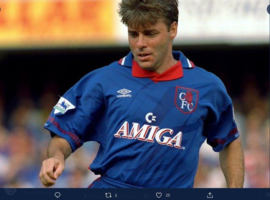 Mal Donaghy ketika bermain bersama Chelea.