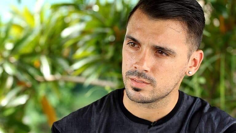 Nico Velez, penyerang asal Argentina yang baru saja didatangkan oleh PSS Sleman untuk kompetisi musim 2021.