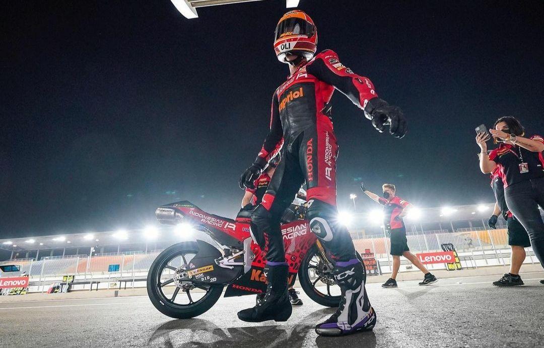 Pembalap Indonesia Gresini, Jeremy Alcoba.