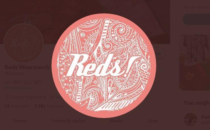 Logo apparel asal Bantul, Reds Wearmerch