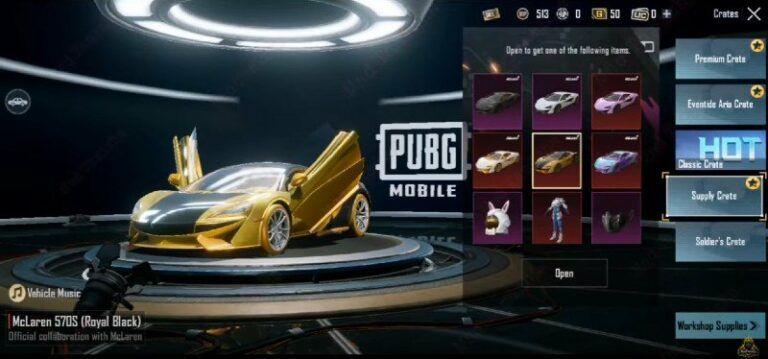 Kolaborasi McClaren dengan PUBG Mobile