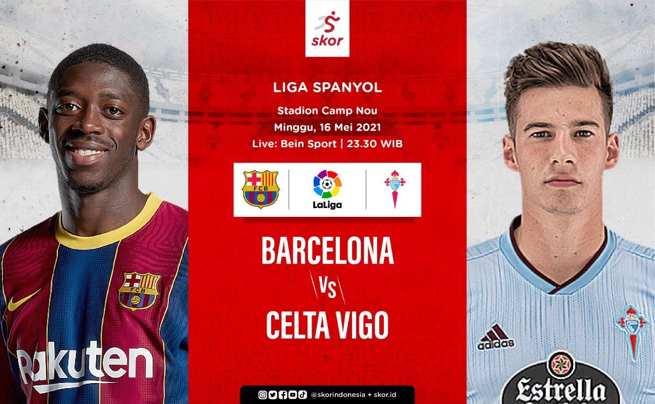 Cover Barcelona vs Celta Vigo