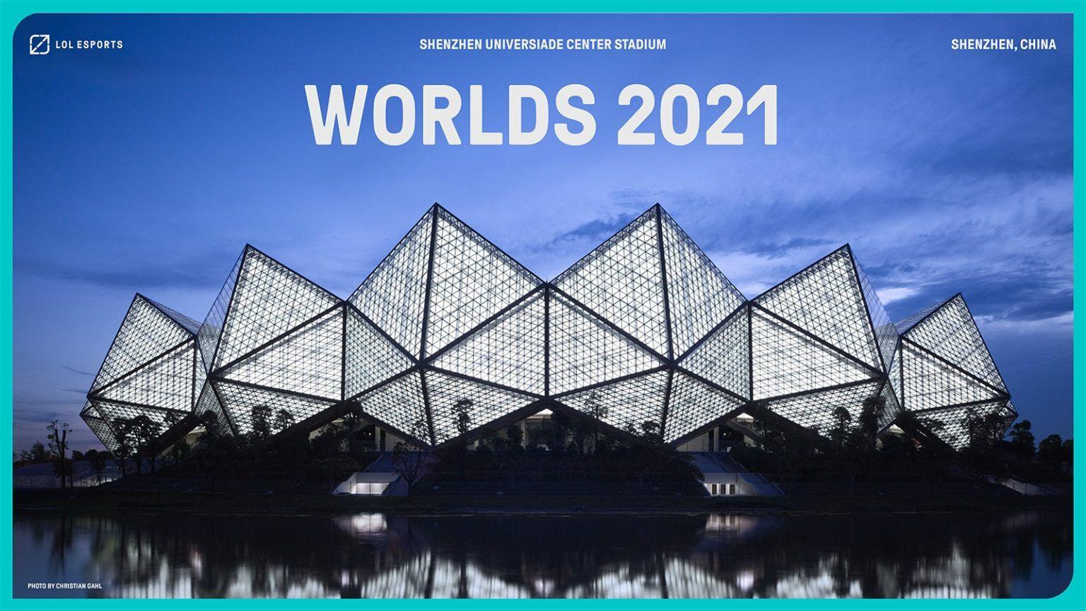 Stadium Universiade Sports Centre untuk gelaran Worlds 2021.