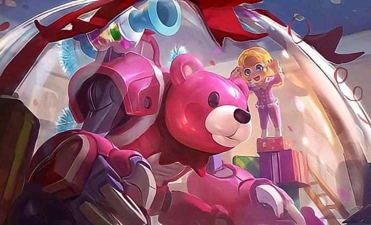 Skin Candy Bear Jawhead Mobile Legends
