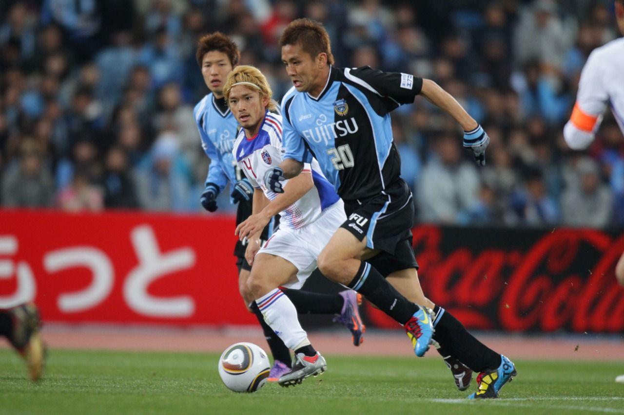 Laga Tamagawa Clasico, Kawasaki Frontale vs F.C.Tokyo, di Meiji Yasuda J1 League.
