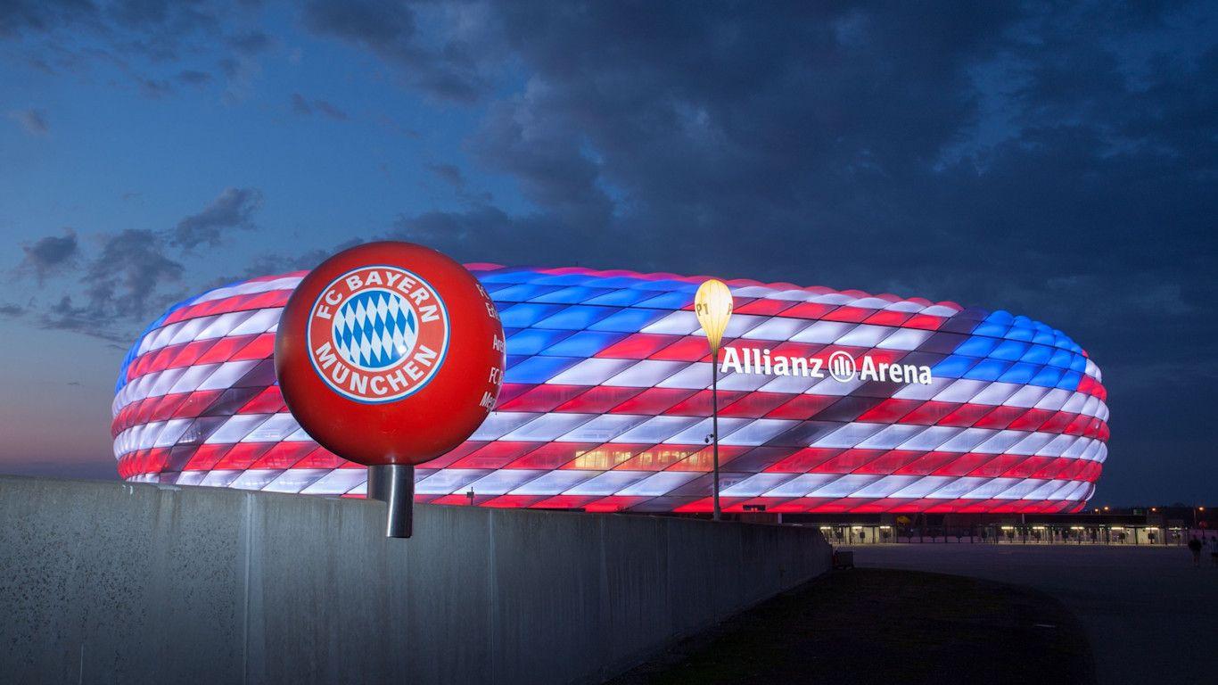Stadion Bayern Munchen, Allianz Arena.