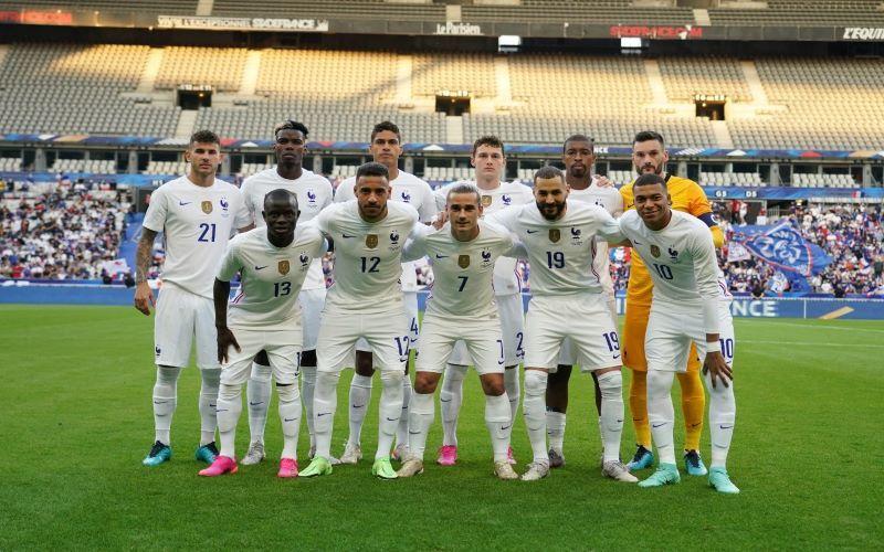 Karim Benzema, Antoine Griezmann, dan Kylian Mbappe menjadi bagian line-up timnas Prancis melawan Bulgaria.