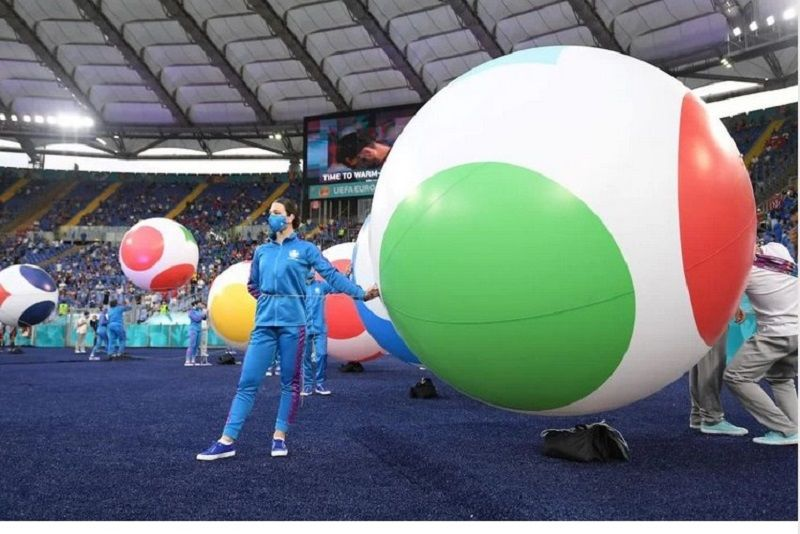 Jelang digelarnya pesta pembukaan Piala Eropa 2020.
