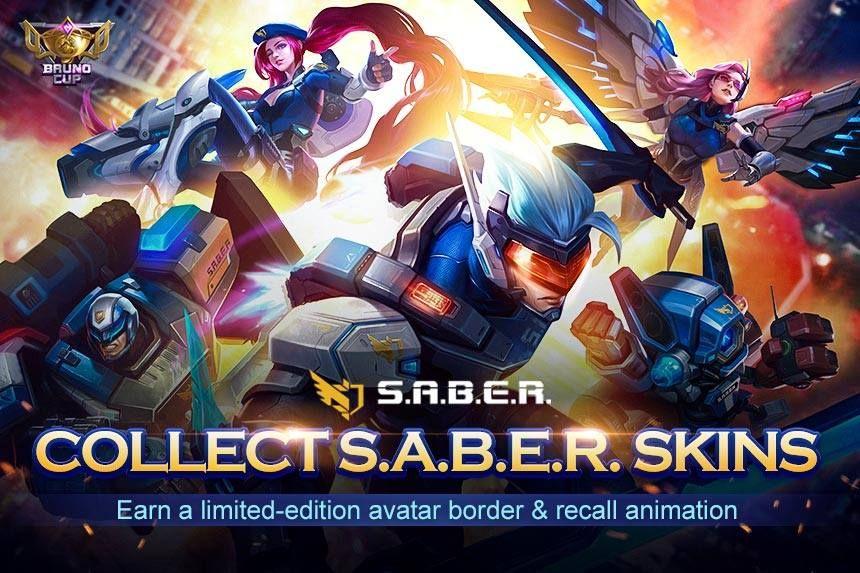 Skuad S.A.B.E.R. Mobile Legends