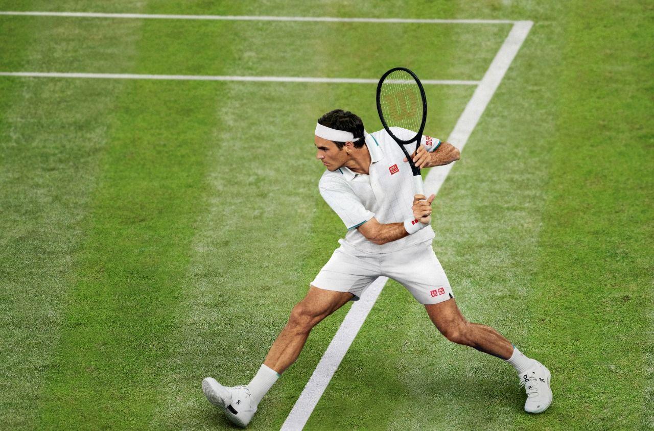 Roger Federer tak sabar mengenakan pakaian baru dari UNIQLO saat bertanding
