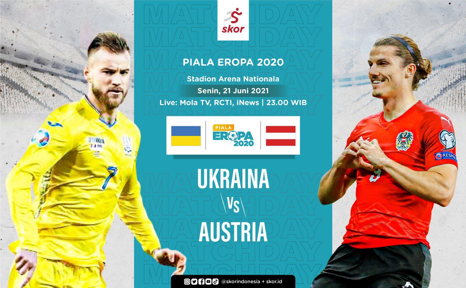 Cover Ukraina vs Austria