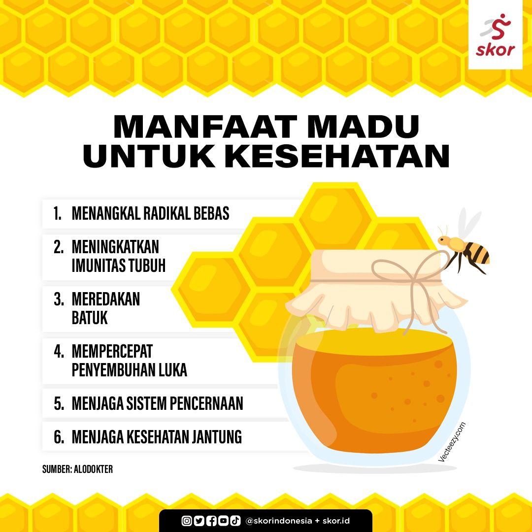 Manfaat madu untuk kesehatan.