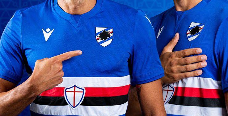 Sampdoria Rilis Jersi Kandang Musim 2021-2022