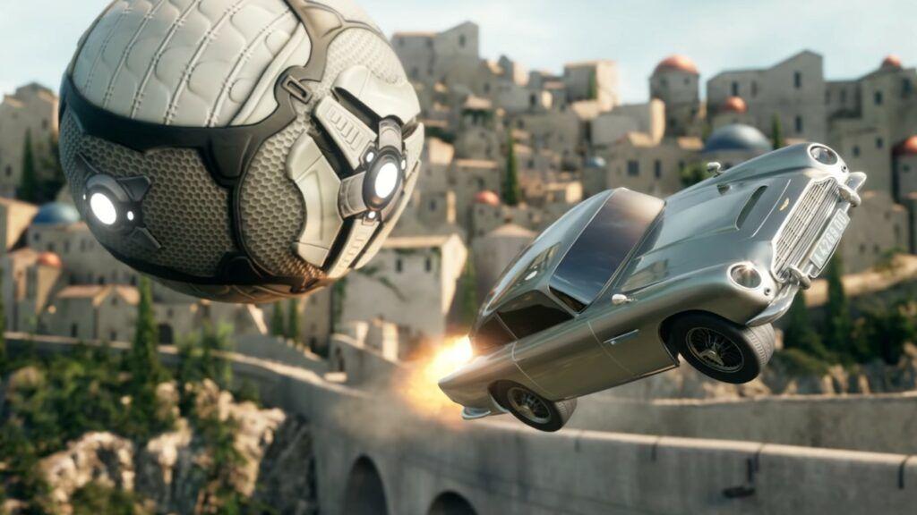 Aston Martin DB5 007 Rocket League