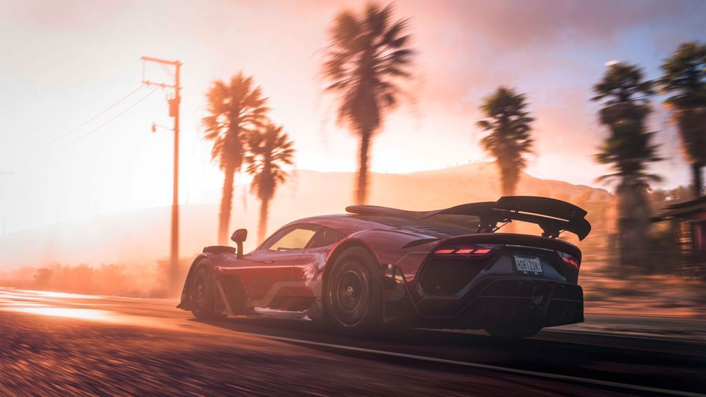 Tampilan Mercedes-AMG Project ONE di game Forza Horizon 5