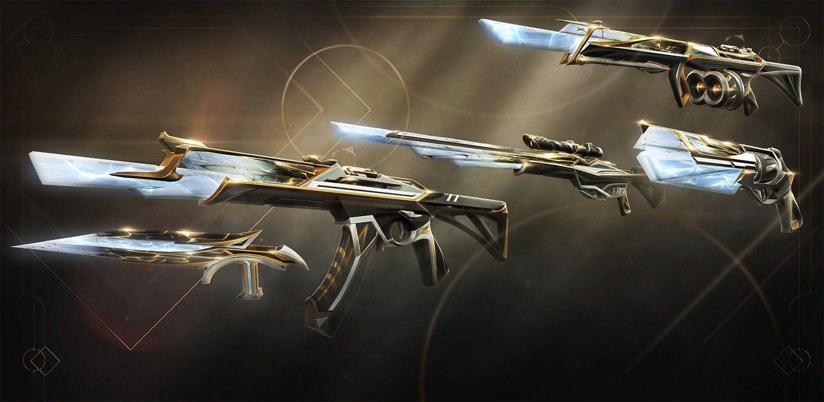Seri Skin Sentinels of Light di Valorant.