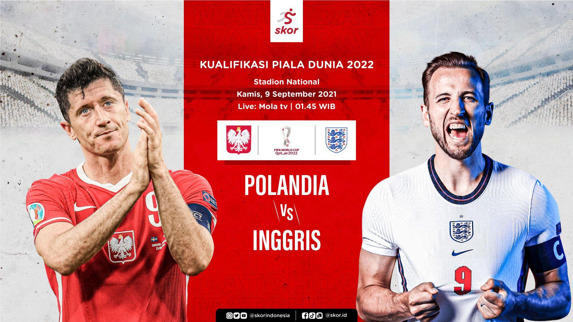 Cover Polandia vs Inggris
