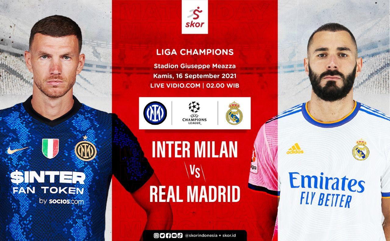 Cover Inter Milan vs Real Madrid