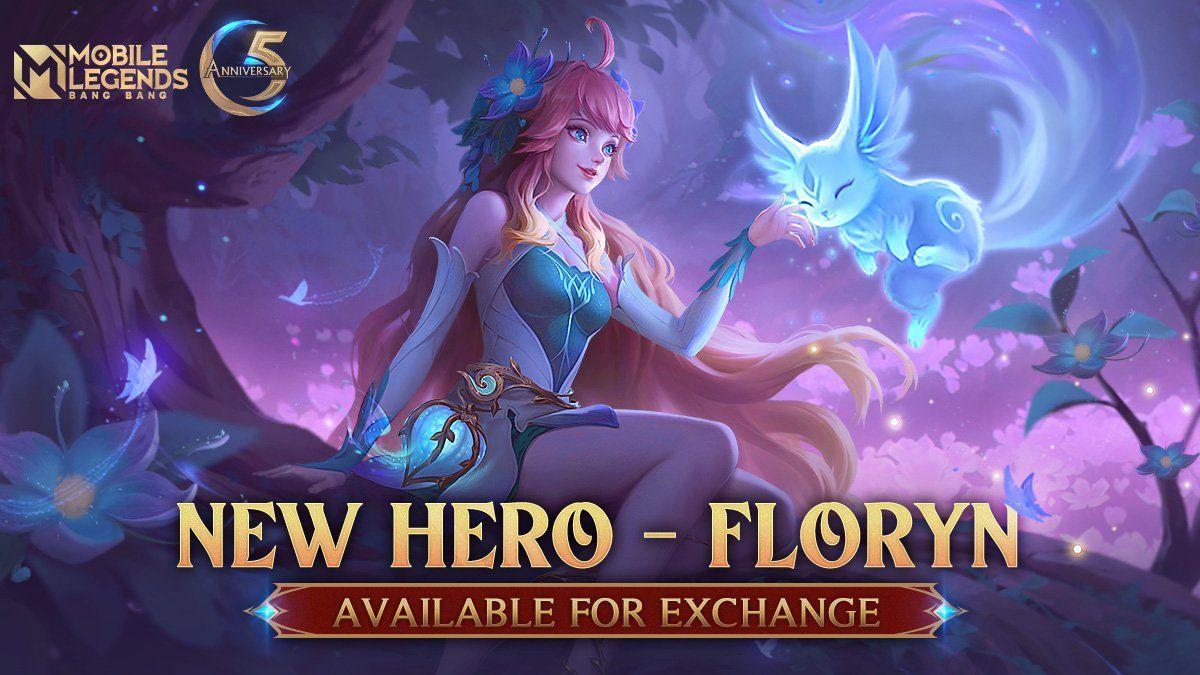 Hero baru Mobile Legends Floryn.
