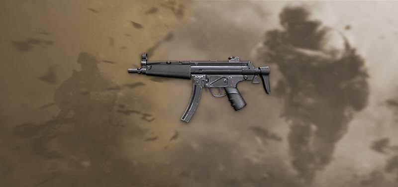 Senjata MP5 Free Fire