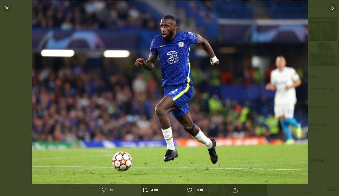 Bek Chelsea, Antonio Rudiger.