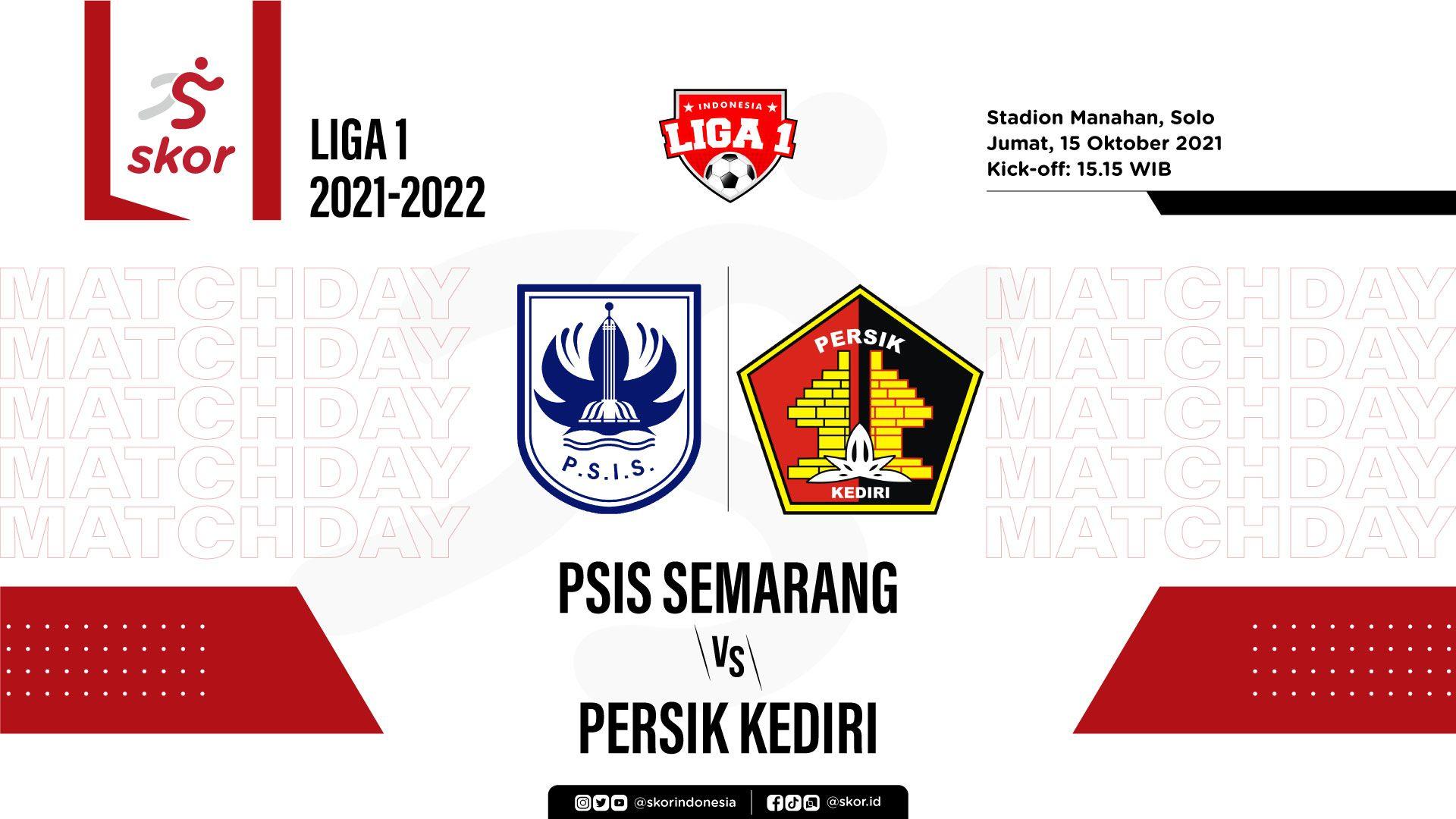 PSIS Semarang vs Persik Kediri