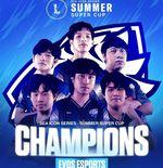 EVOS Esports TH Kampiun SEA Icon Series Summer Super Cup 2021 Usai Tumbangkan ONE Team
