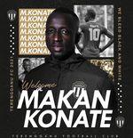 Makan Konate ResmiDiperkenalkan Sebagai RekrutanKlub Malaysia, Terengganu FC